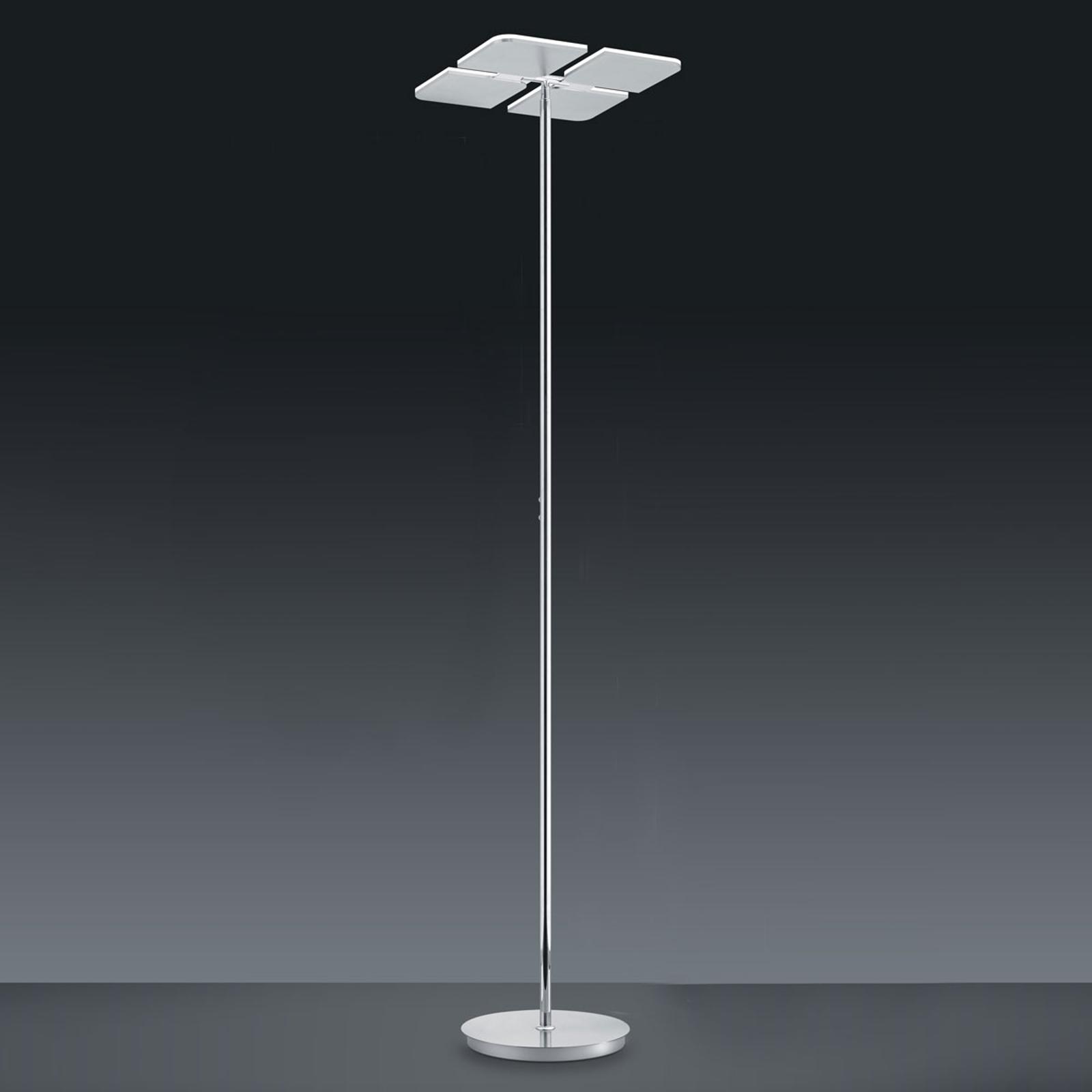 BANKAMP Quadrifoglio LED vloerlamp, 2.700-6.500K