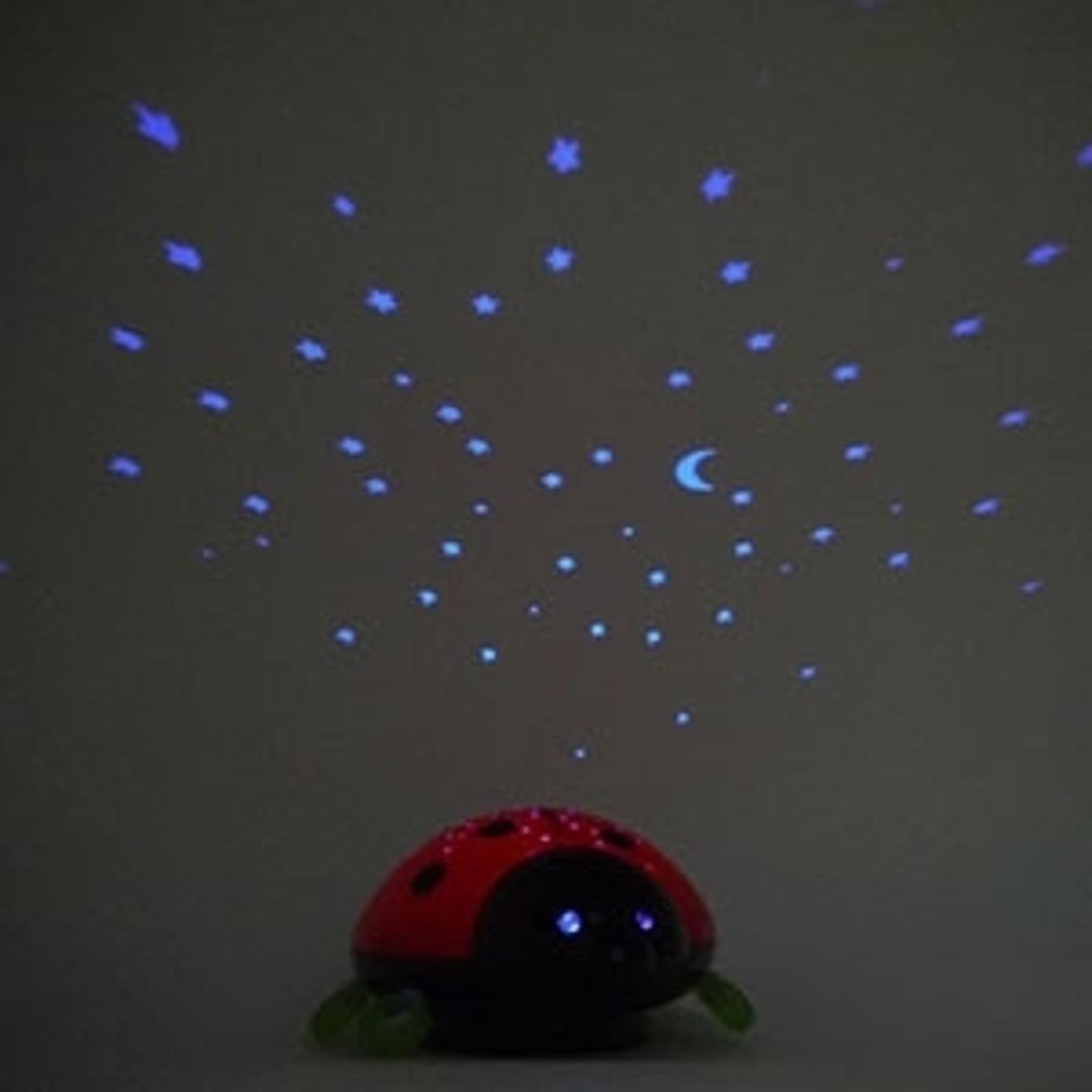 Sternenhimmel mit dem LED-Nachtlicht Beetlestar