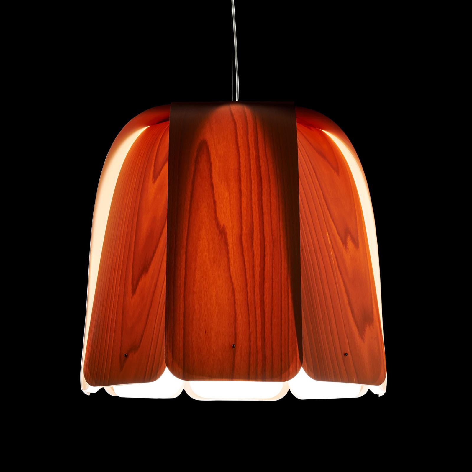 LZF Domo hanglamp beuken natuur