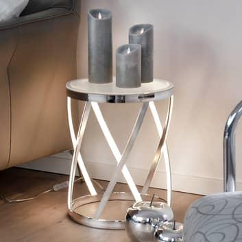 Rumpu - źródło światła i dodatkowy stolik w jednym