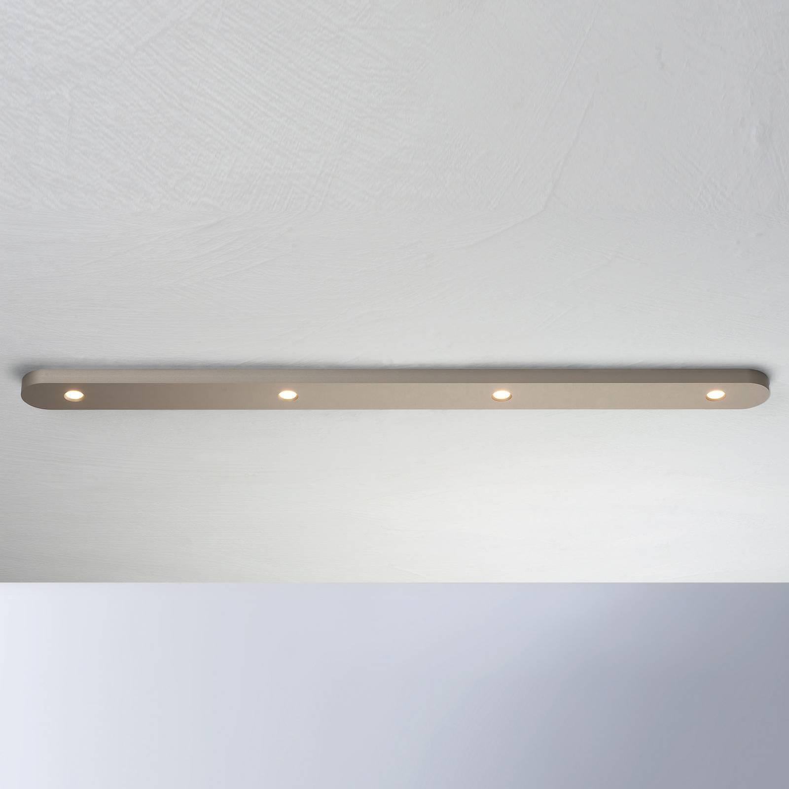 Bopp Close lampa sufitowa LED 4-punktowa, taupe