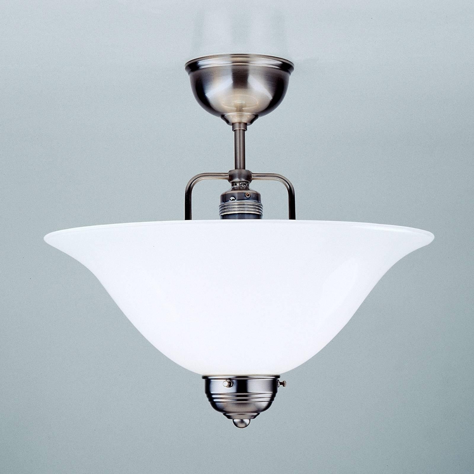 Lampa sufitowa ROSA wykonana ręcznie, niklowy
