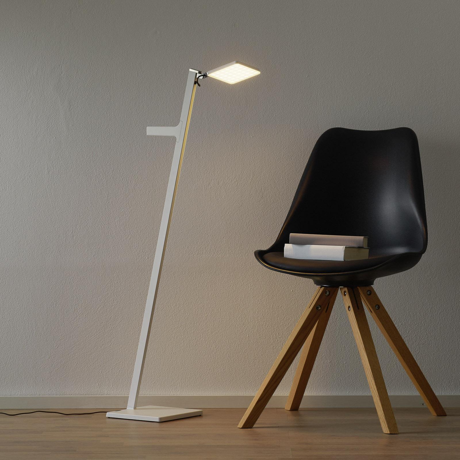 Nimbus Roxxane Leggera lampa stojąca LED biała