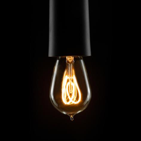 E14 2,7W 922 LED druppellamp Curved Line 360°