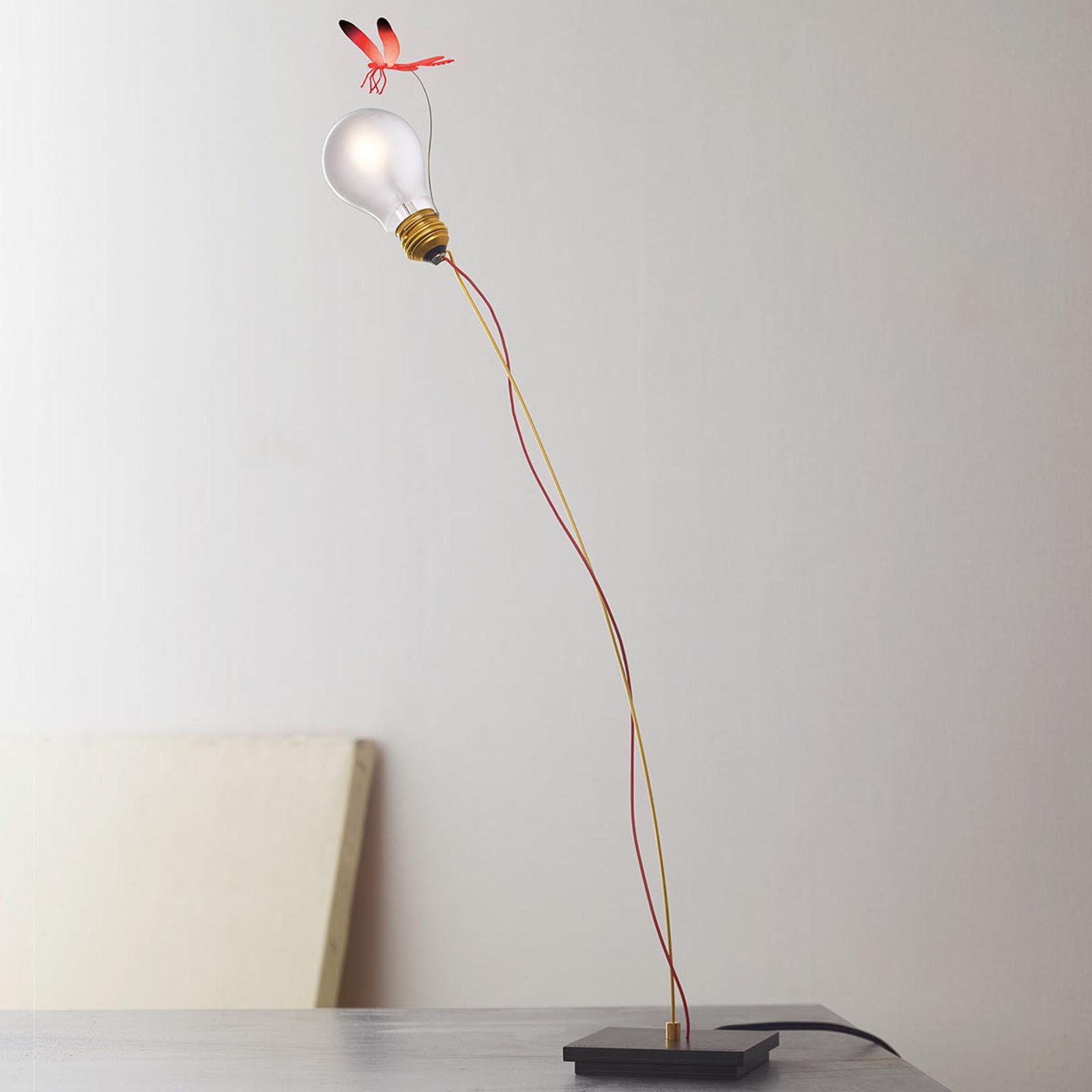 Lampa stołowa I Ricchi Poveri Bzzzz - ważka