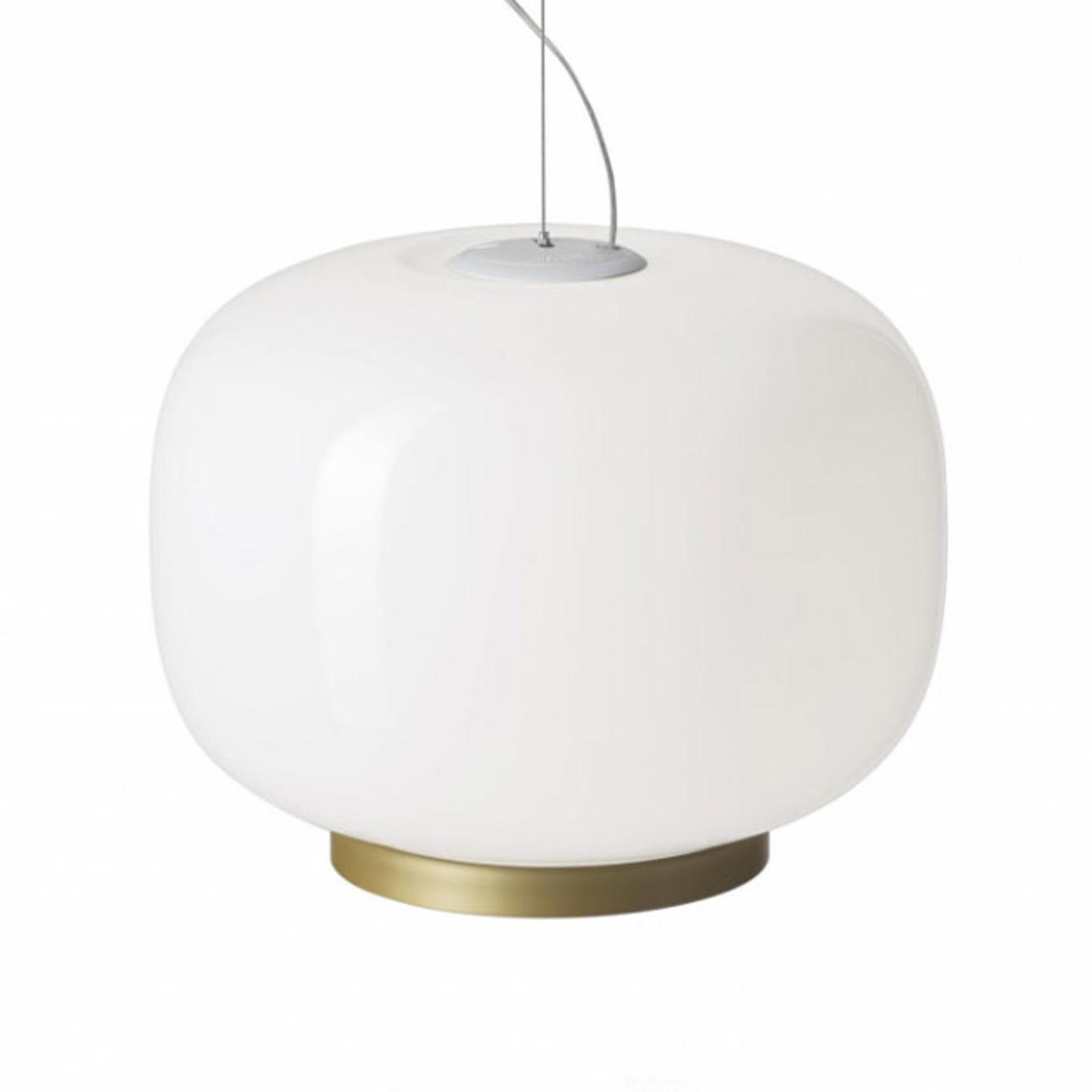 Foscarini Chouchin Reverse 1 LED gold/weiß dimmbar