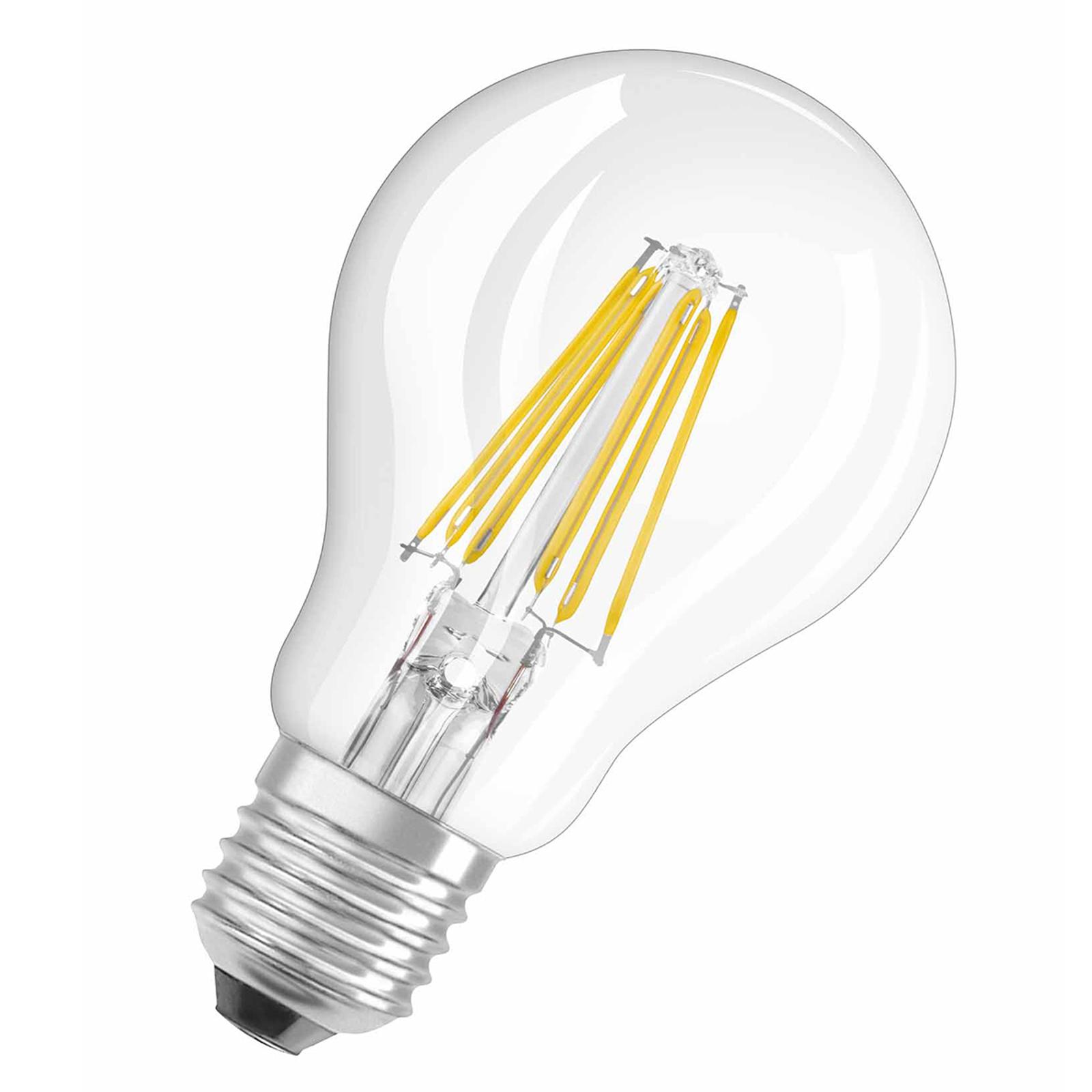 OSRAM E27 8W 827 Retrofit LED Lampe Filament klar