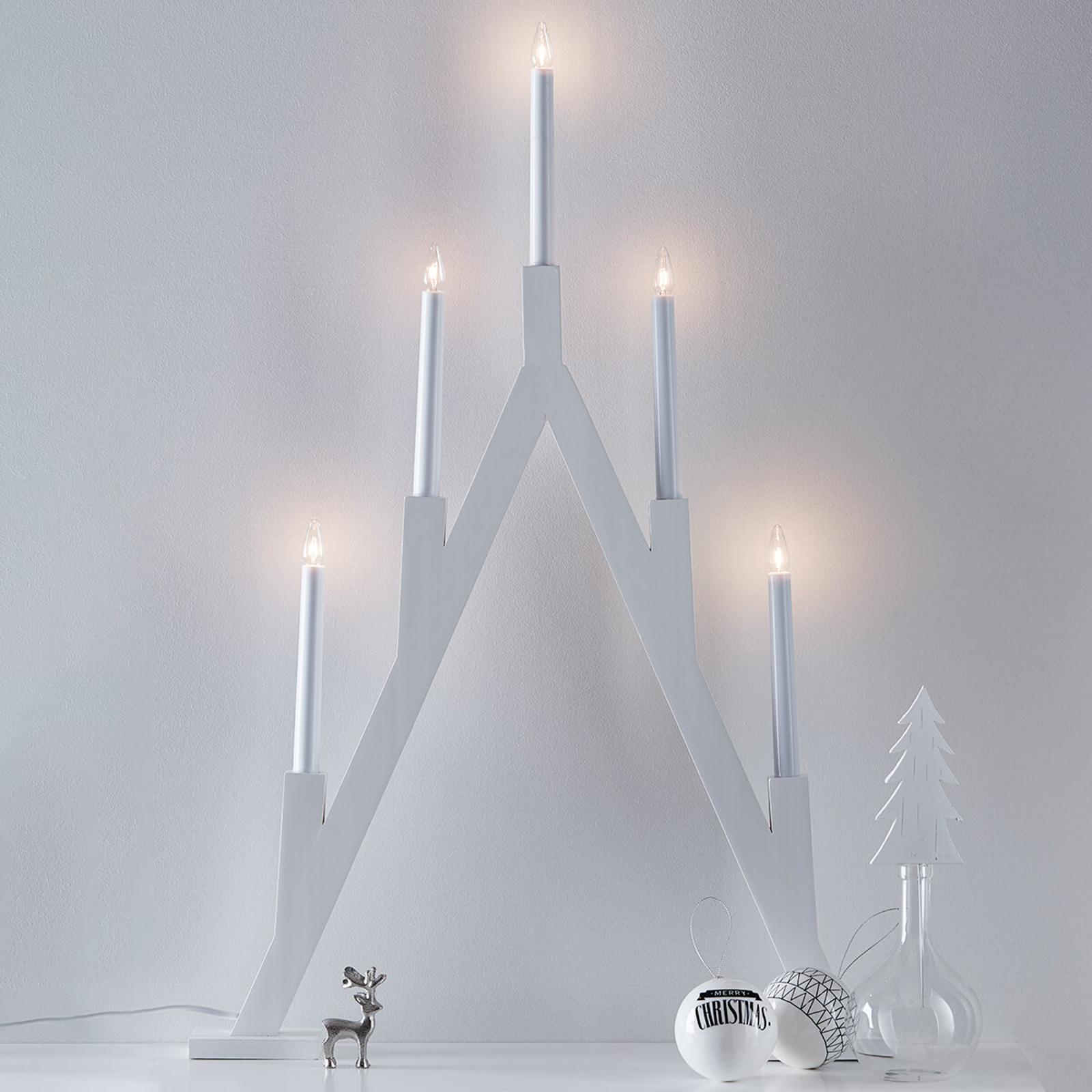 Geradlinig gestalteter Kerzenleuchter Bjurfors