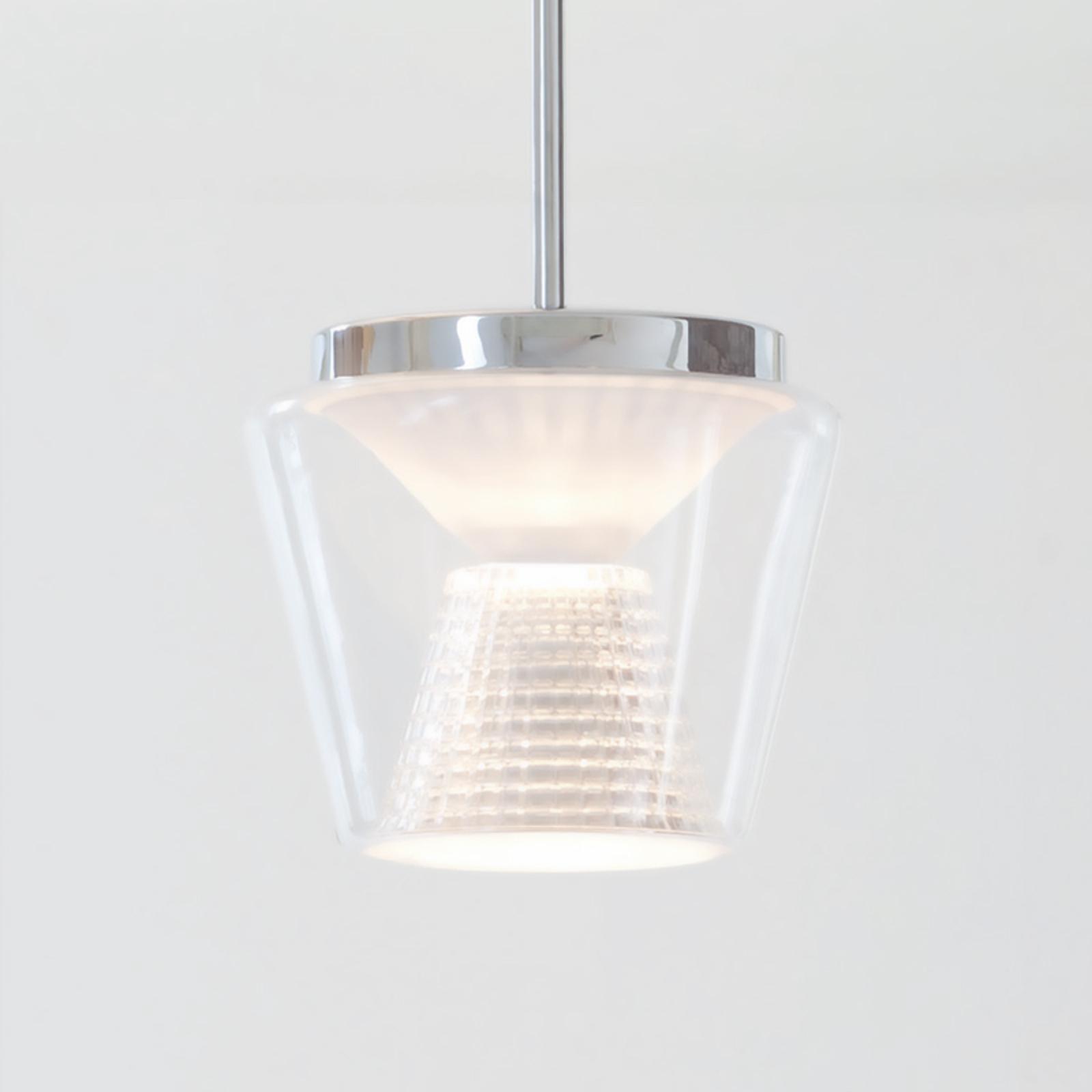 Med krystallglass – LED-pendellampe Annex