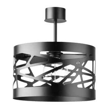 Stropní světlo Modul Frez Ø 30 cm, černá
