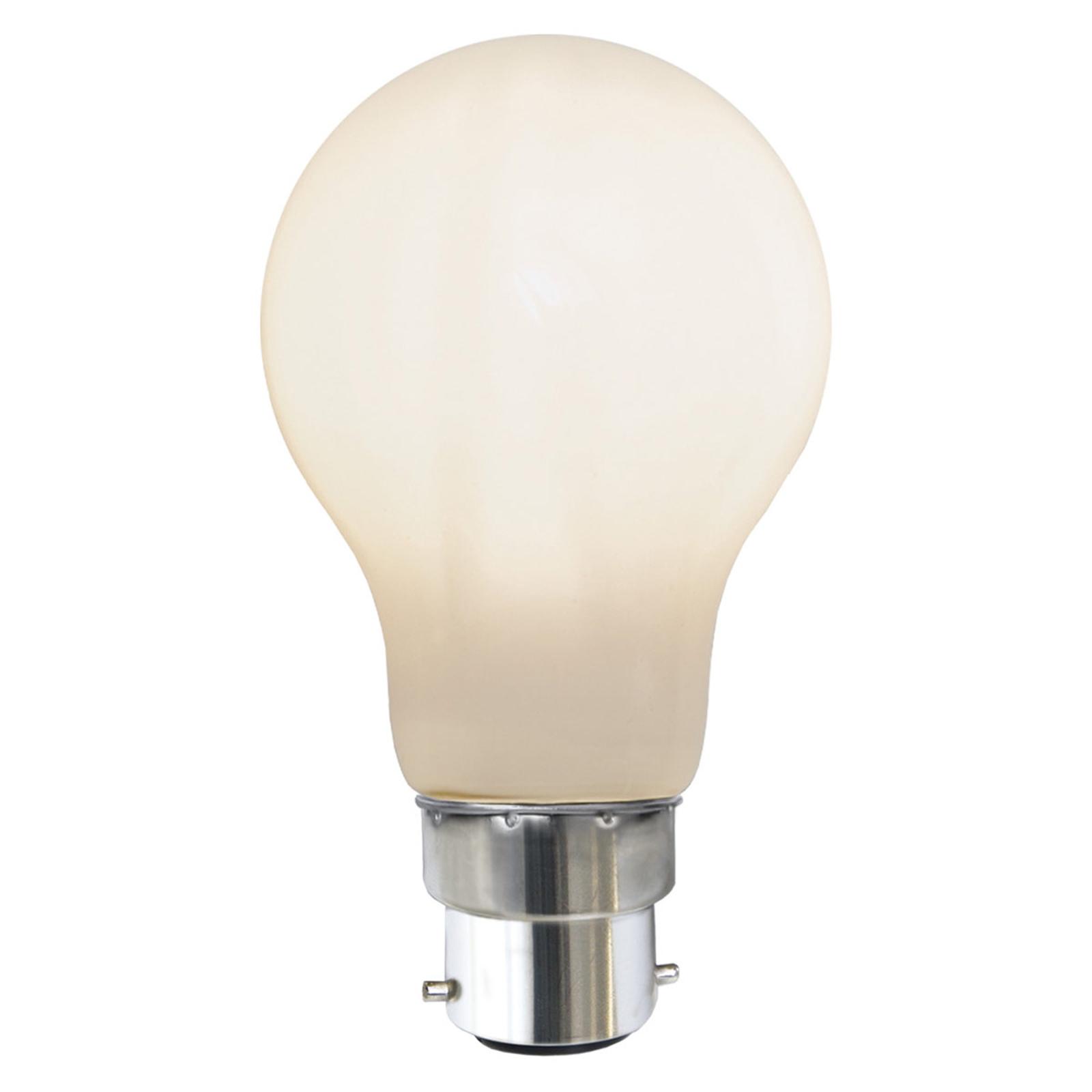 LED-Lampe B22 7,5W 2.700K Ra90 opal
