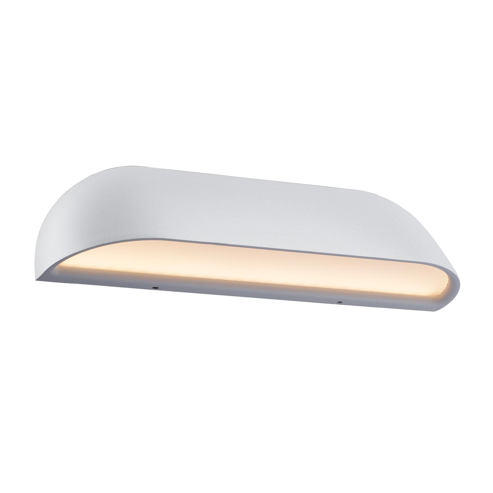 LED-Außenwandlampe Front 26, weiß