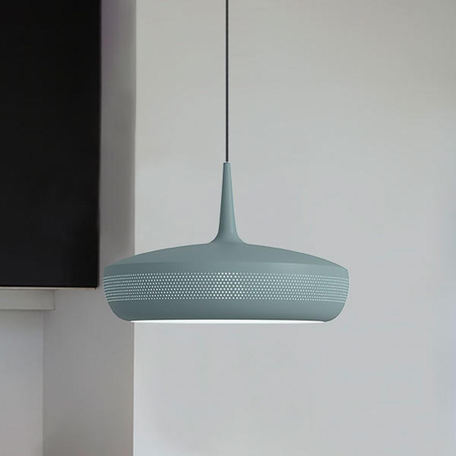 UMAGE Clava Dine lampa wisząca, niebiesko-szara