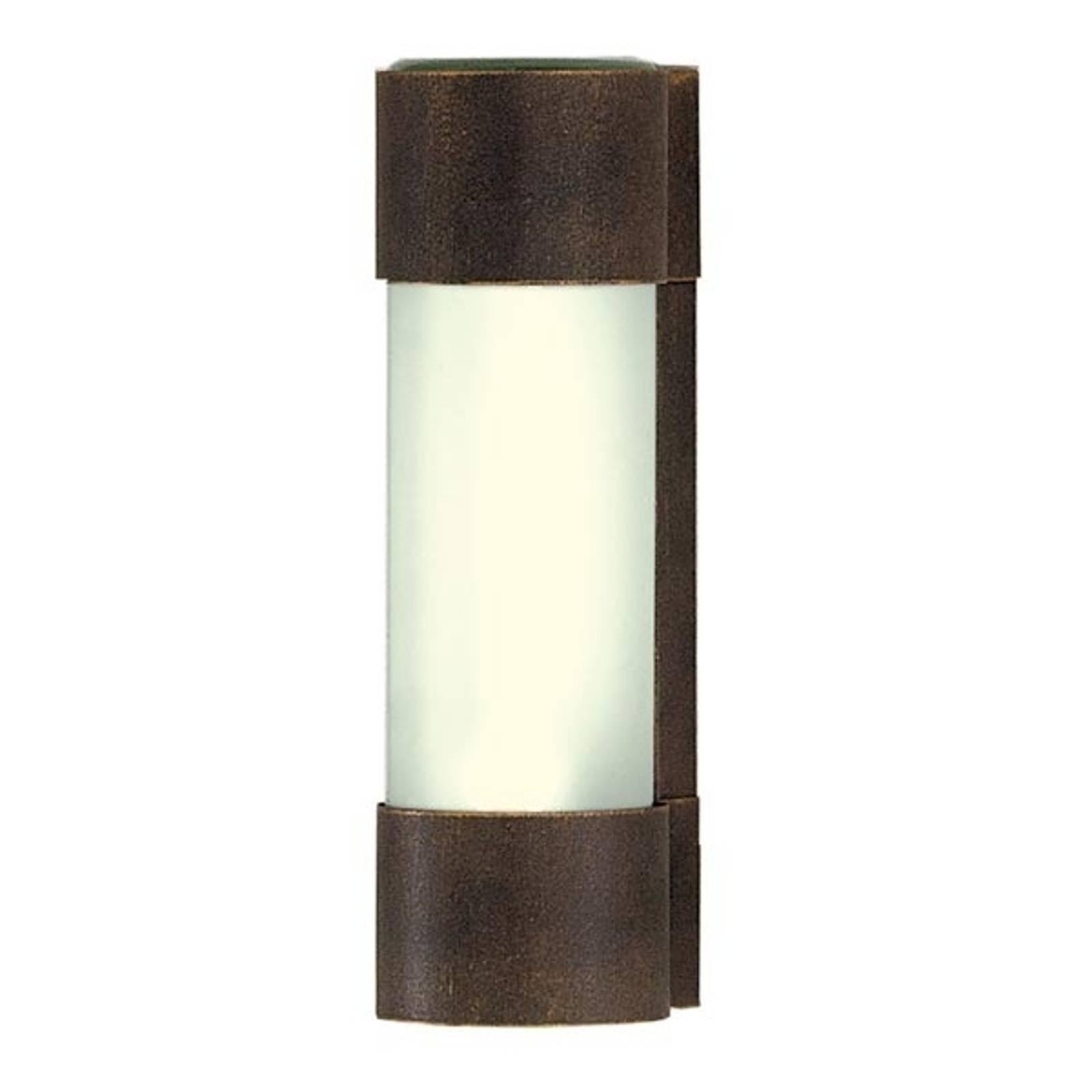 Wandlamp NEPTO bruin-goud gepatineerd
