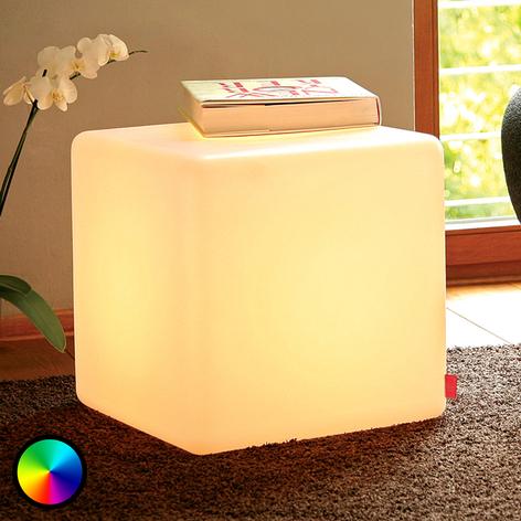 Przydatna lampa dekoracyjna LED CUBE Indoor
