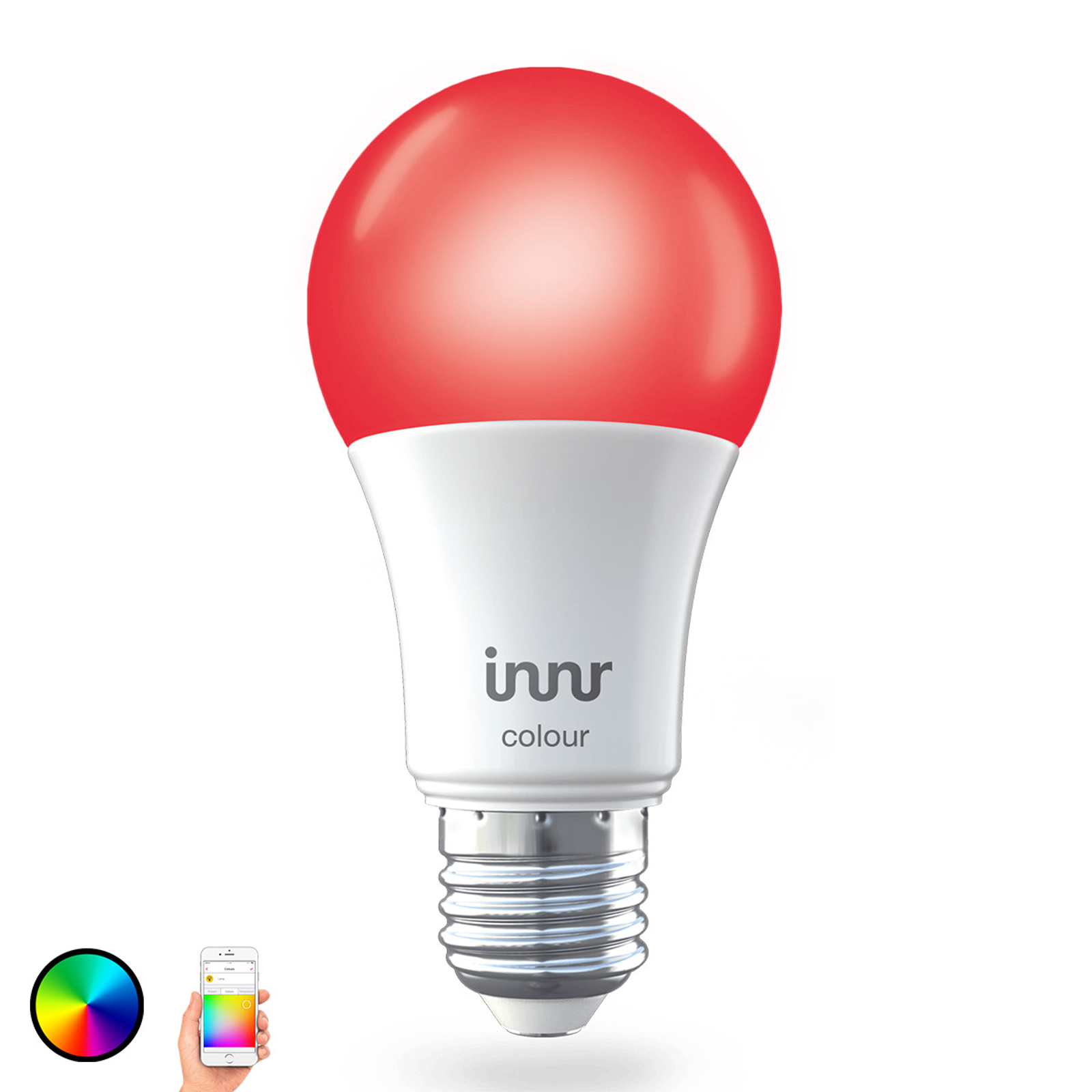 E27 9,5 W LED-Lampe Innr Smart Bulb Colour