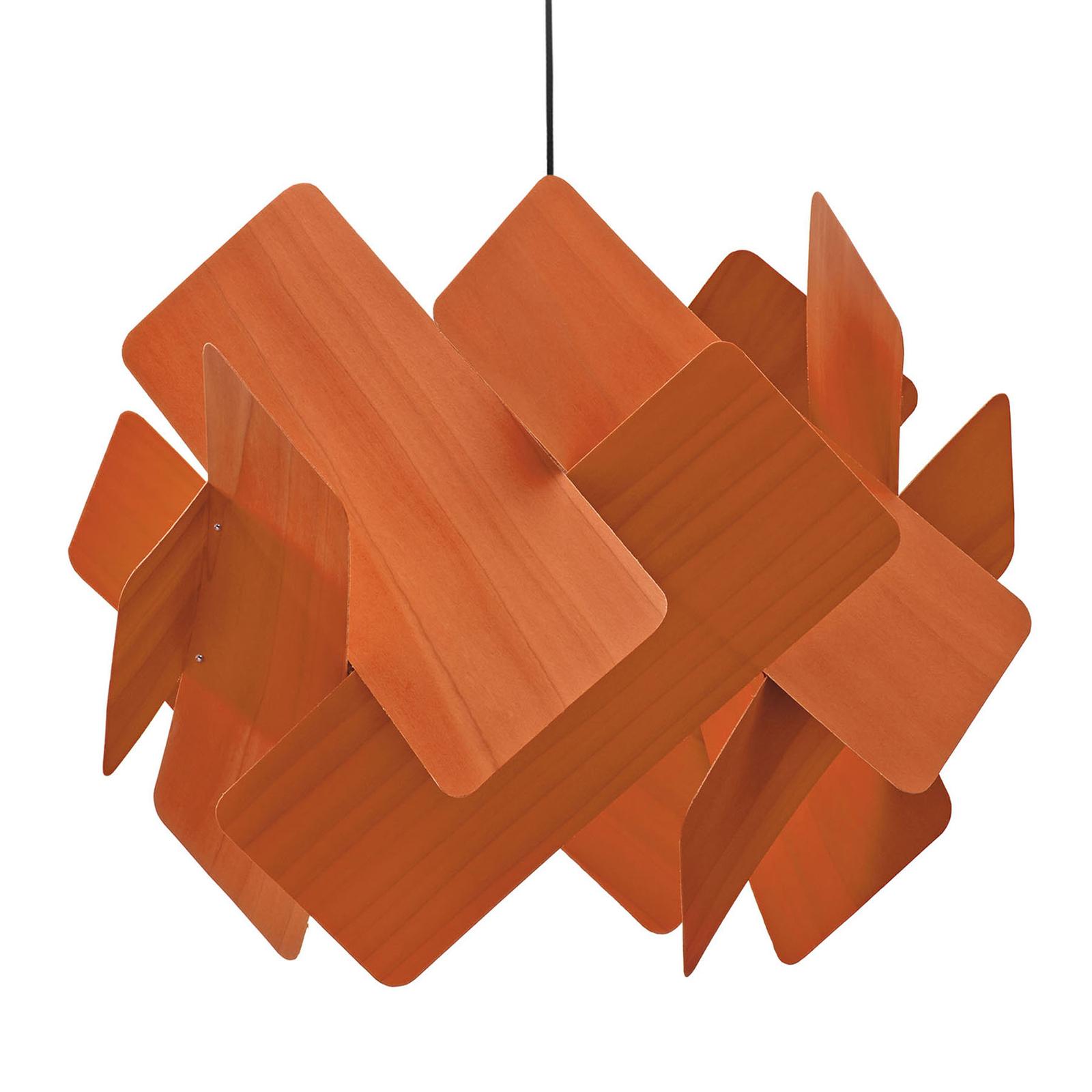 LZF Escape hengelampe, Ø 52 cm, oransje