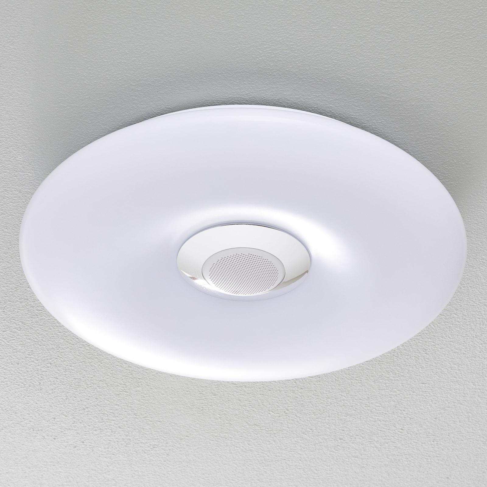 Nashville - LED-Deckenlampe mit Lautsprecher