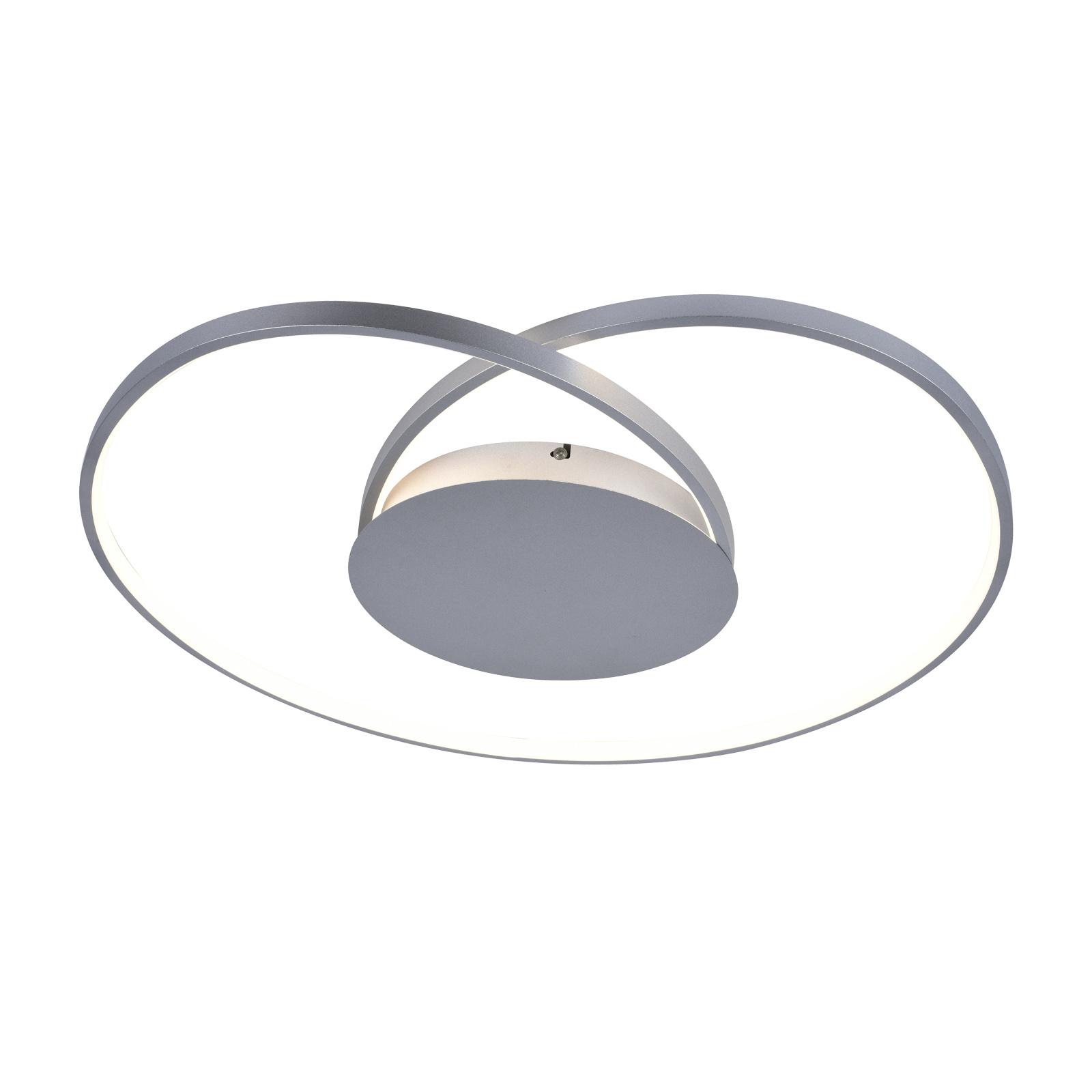 Lucande Enesa lampa sufitowa LED, okrągła, CCT
