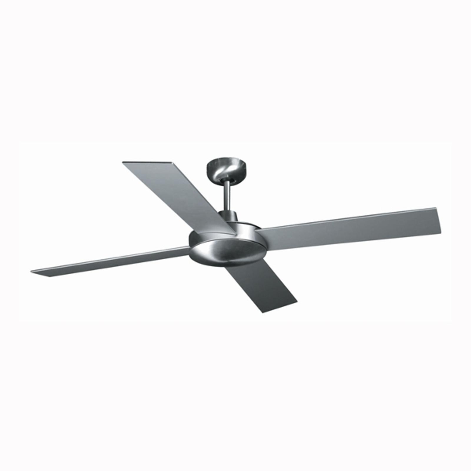 Moderno ventilatore MALLORCA - alluminio