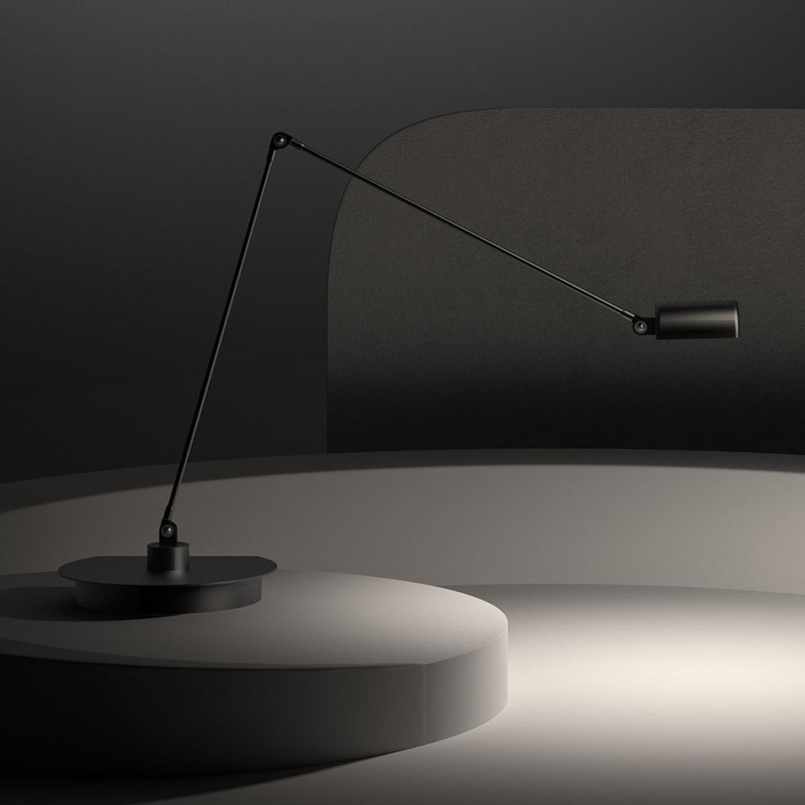 Lumina Daphine Cloe LED-Tischlampe 3.000K, schwarz