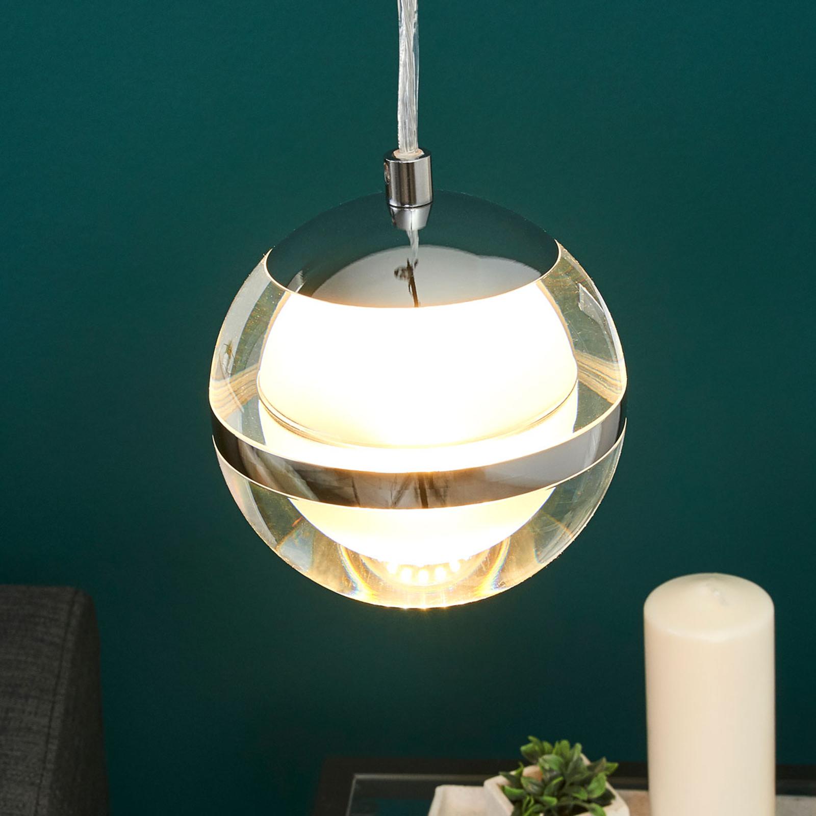 Kreativ gestaltete LED-Hängeleuchte Fulton