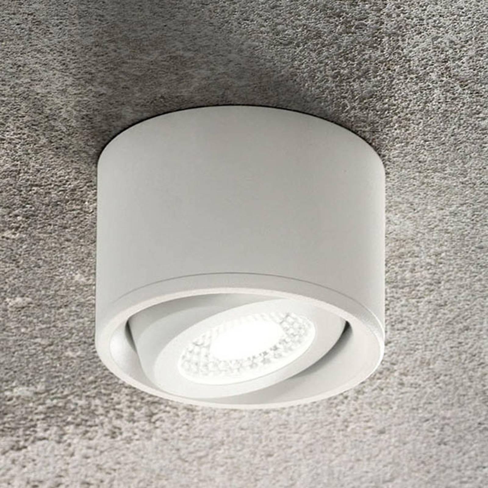 Kantelbare kop - LED downlight Anzio, wit