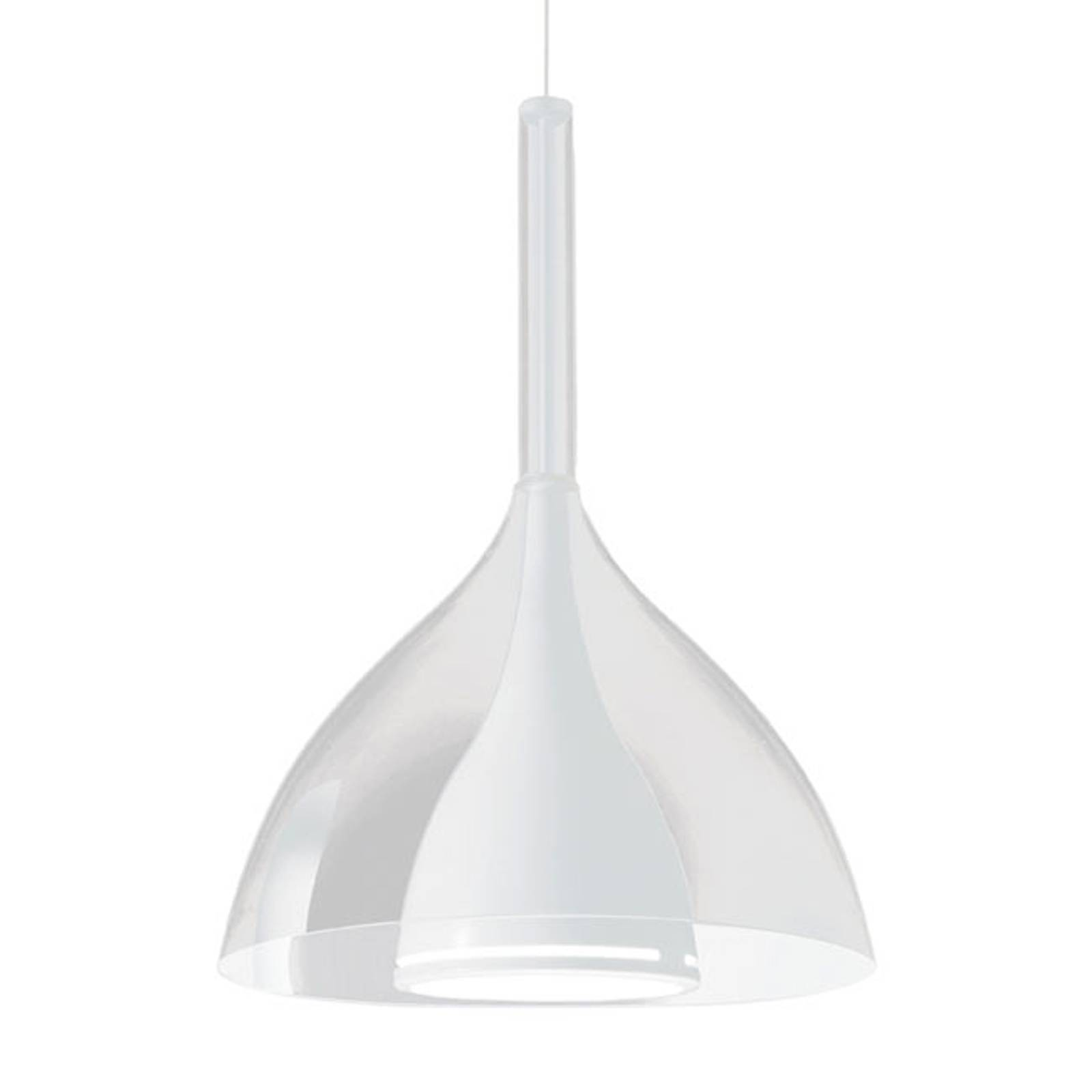 Kundalini Floob hanglamp, transparant