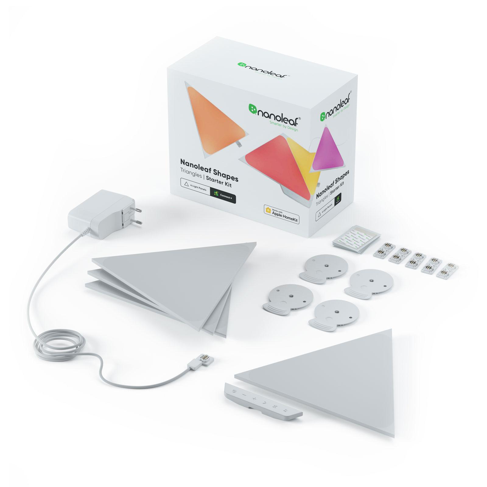 Nanoleaf Shapes Triangles, Starter Set, 4 Panels