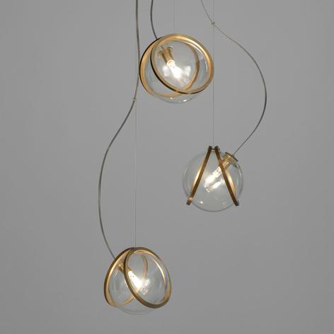 Terzani Pug lampada sospensione 3 luci