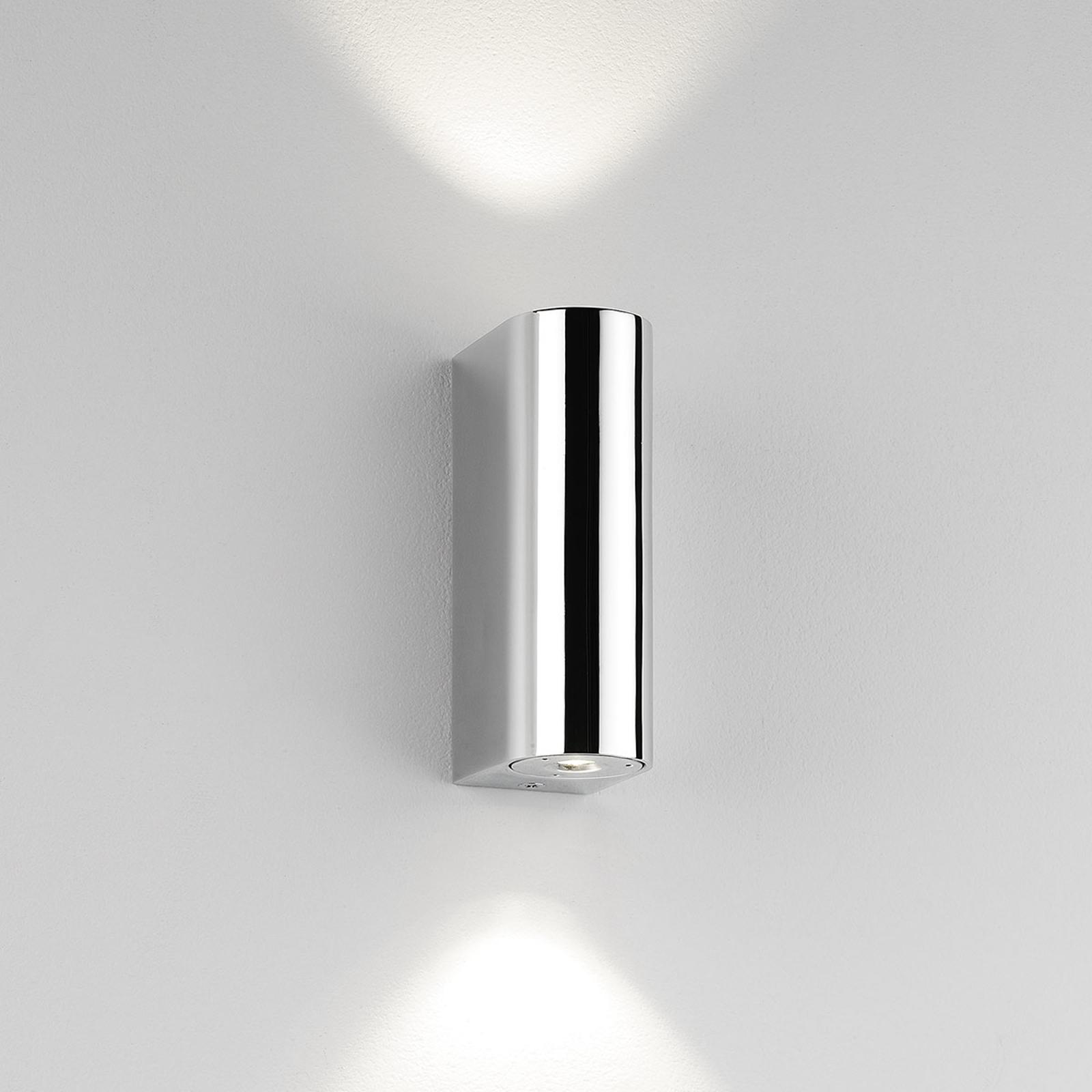 Astro Alba - verchromte LED-Wandleuchte