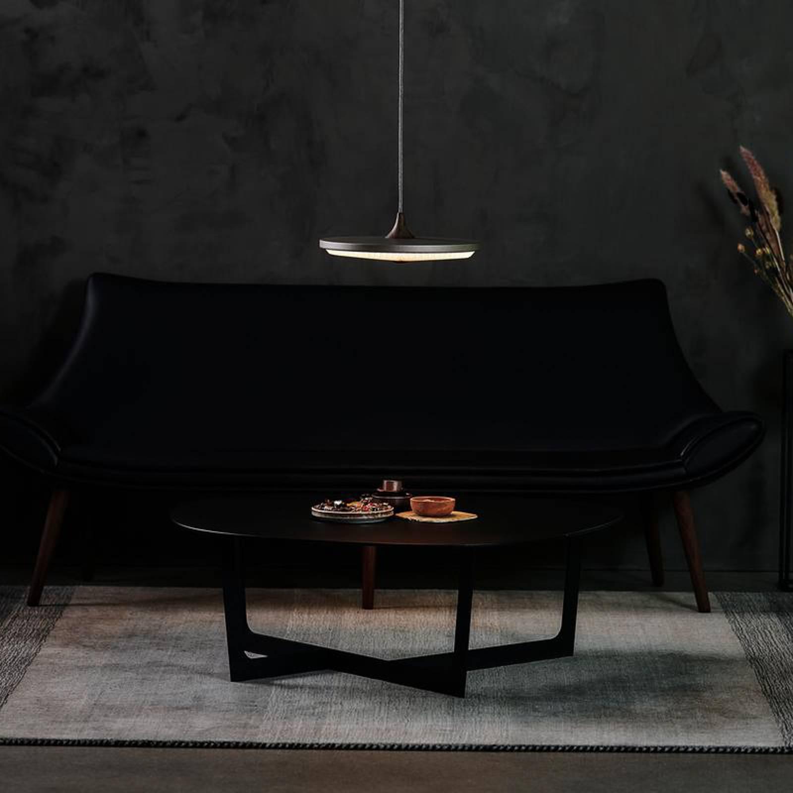LE KLINT Soleil hanglamp papier donker Ø 35cm dim