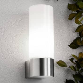 Dekorativ Cala udendørs væglampe uden sensor