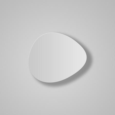 Bover Tria LED-Wandleuchte, weiß