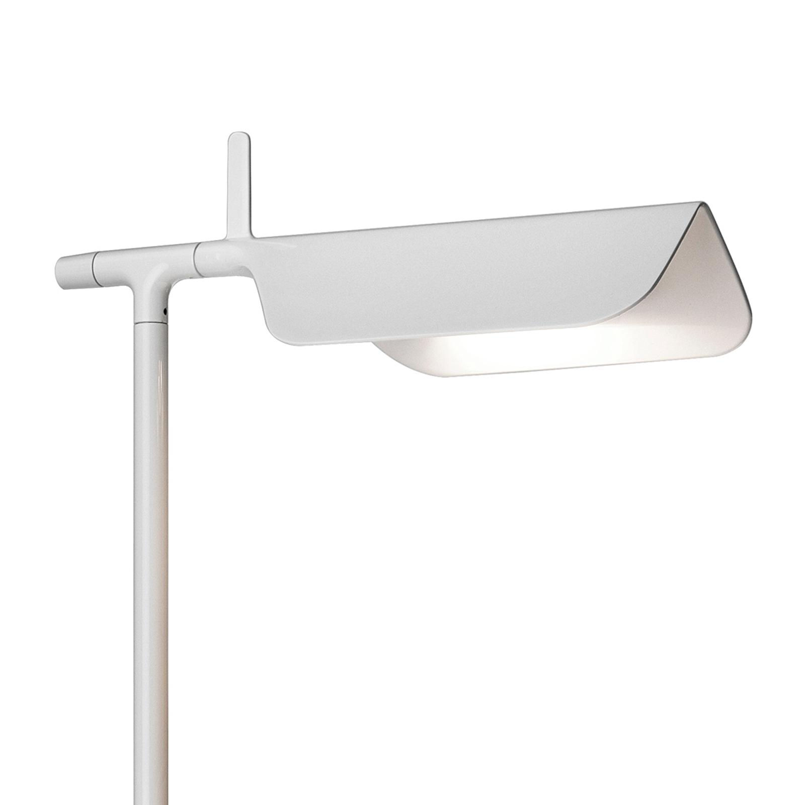FLOS Tab LED F - puristická stojací lampa, bílá