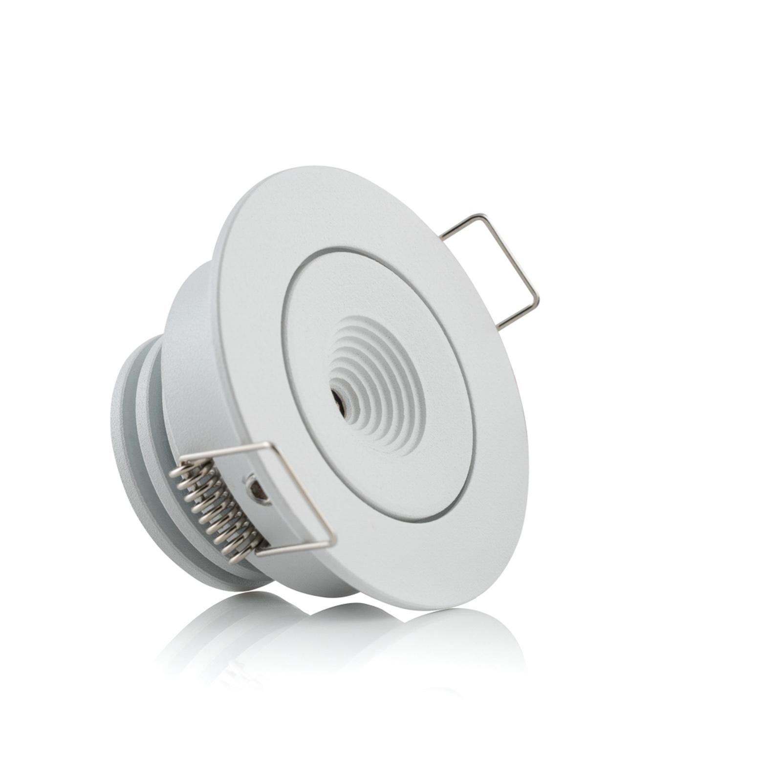 SLC MiniOne Tilt LED-Einbauleuchte weiß 2.700 K