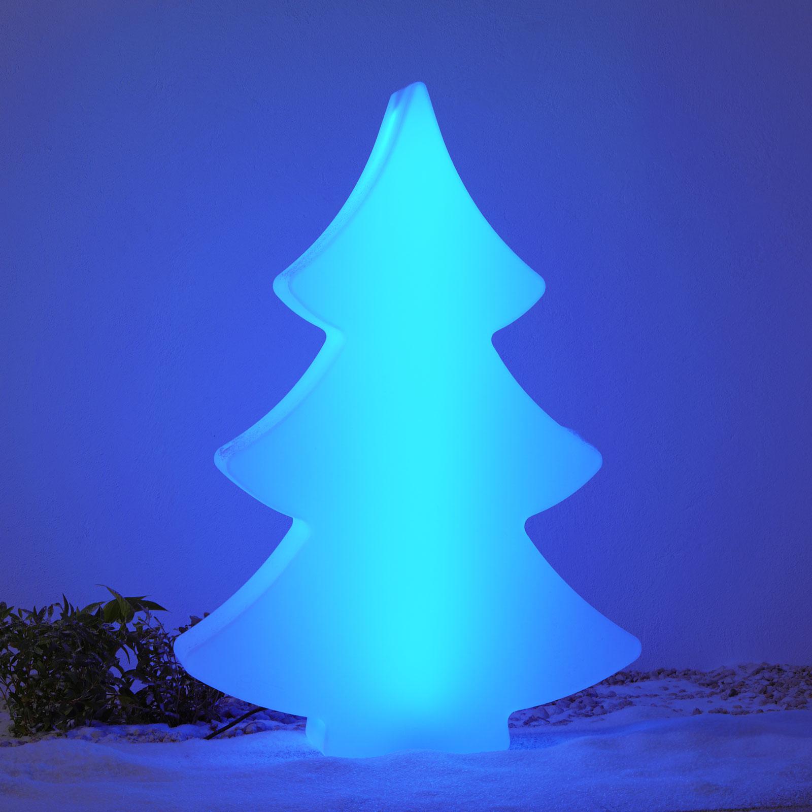 LED-tre Shining Tree 2D RGB 113 cm