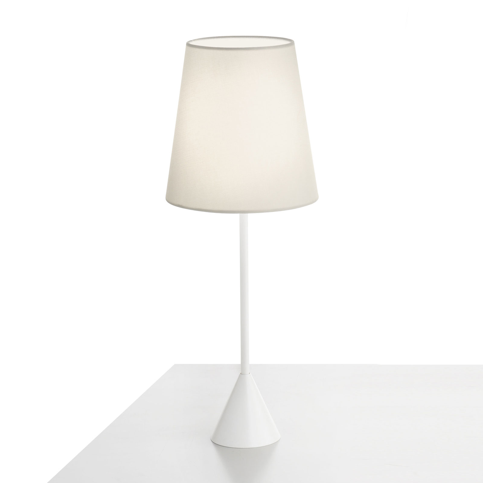 Modo Luce Lucilla tafellamp Ø 17cm wit/ivoor