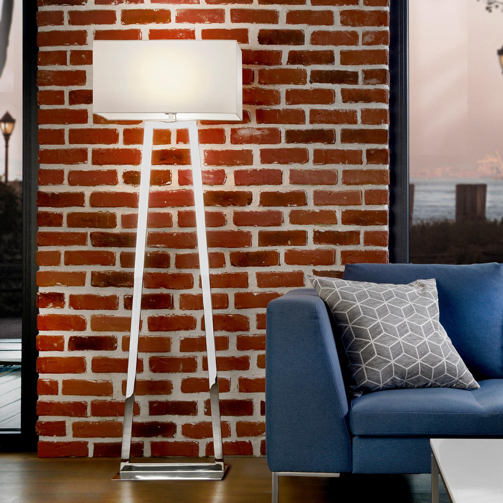 Villeroy & Boch Lyon lampadaire acier inoxydable