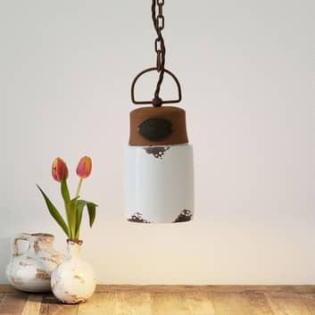 Hanglamp C1620, keramiek en metaal