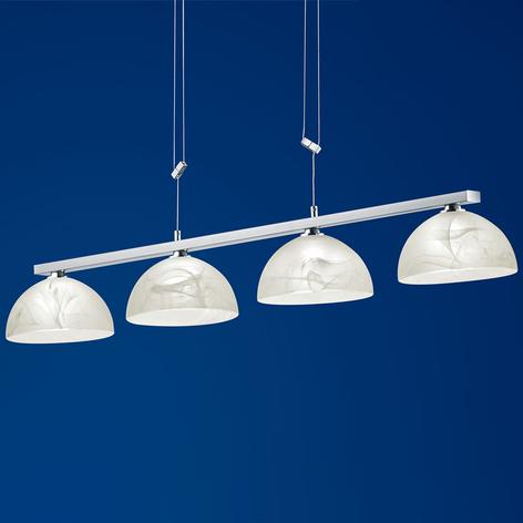 B-Leuchten Ebro LED hanglamp hoogteverstelbaar