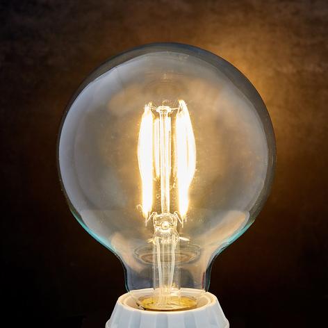 E27 LED globe filament 8W 1055lm 2700K číra