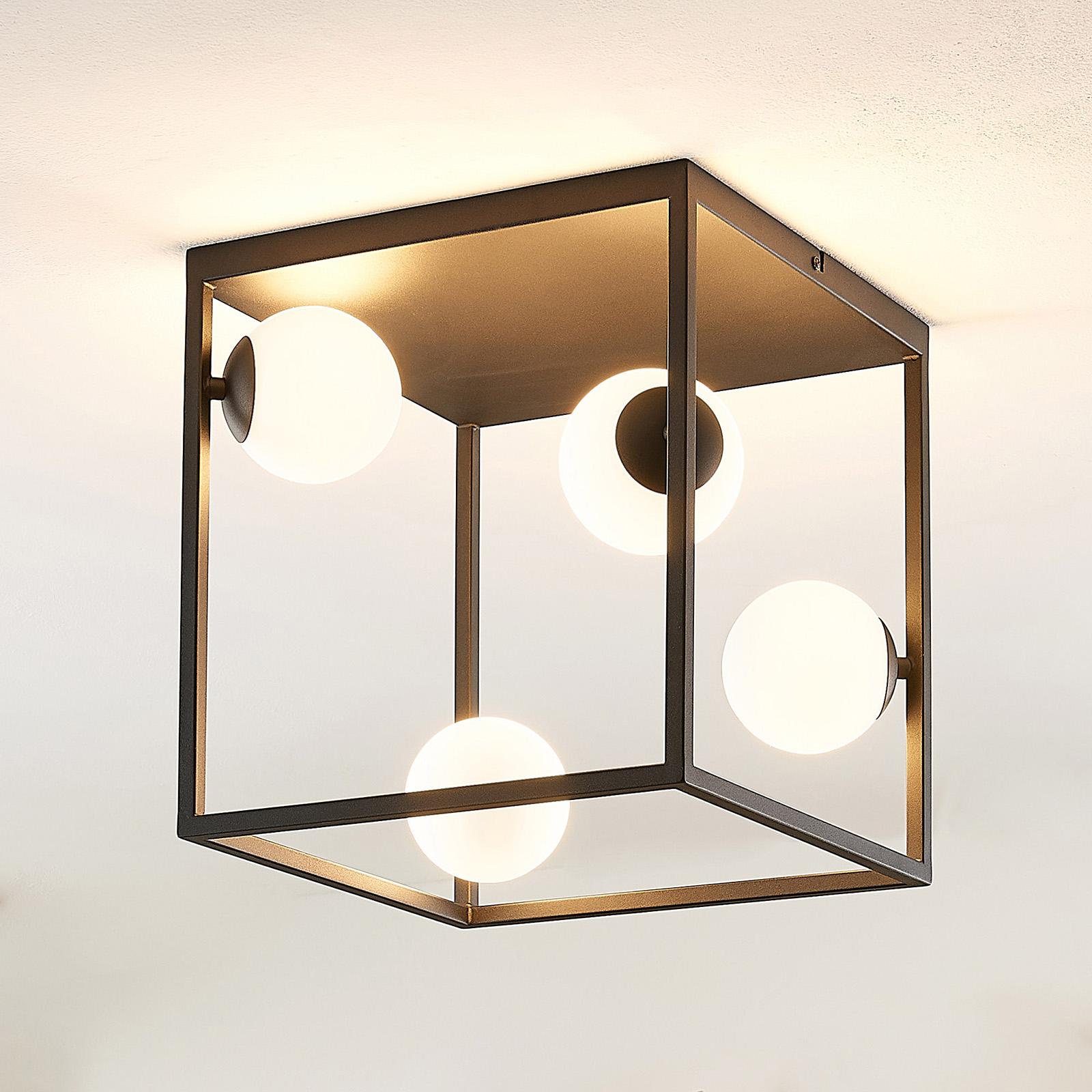 Lindby Utopia LED-Deckenleuchte, vierflammig