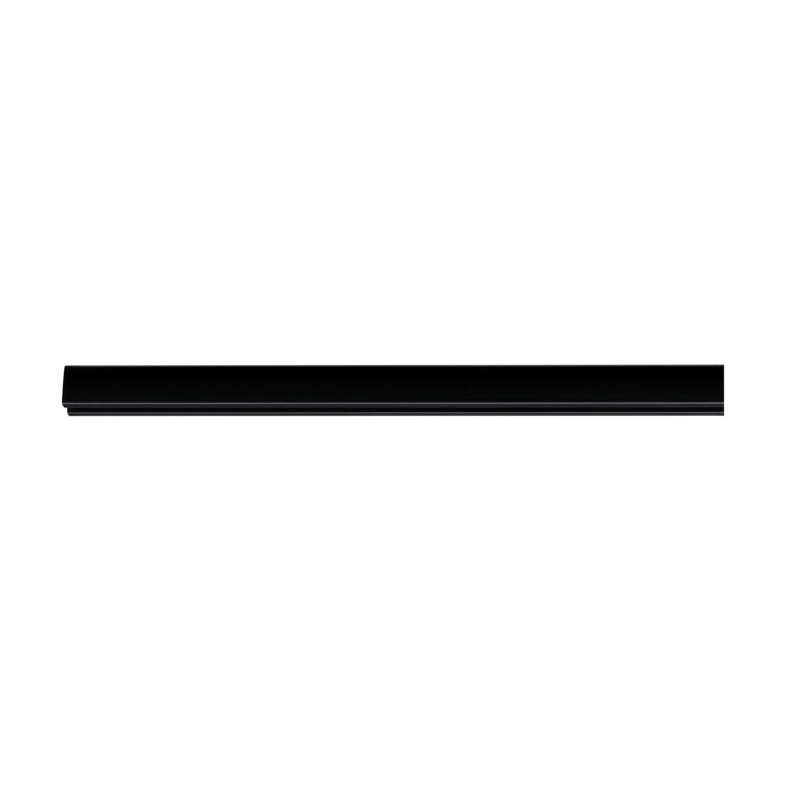 Paulmann URail systemskinne, svart matt, 100 cm