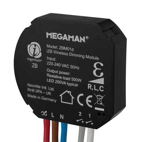 Megaman ingenium®ZB dimmodule 250W, R, L, C
