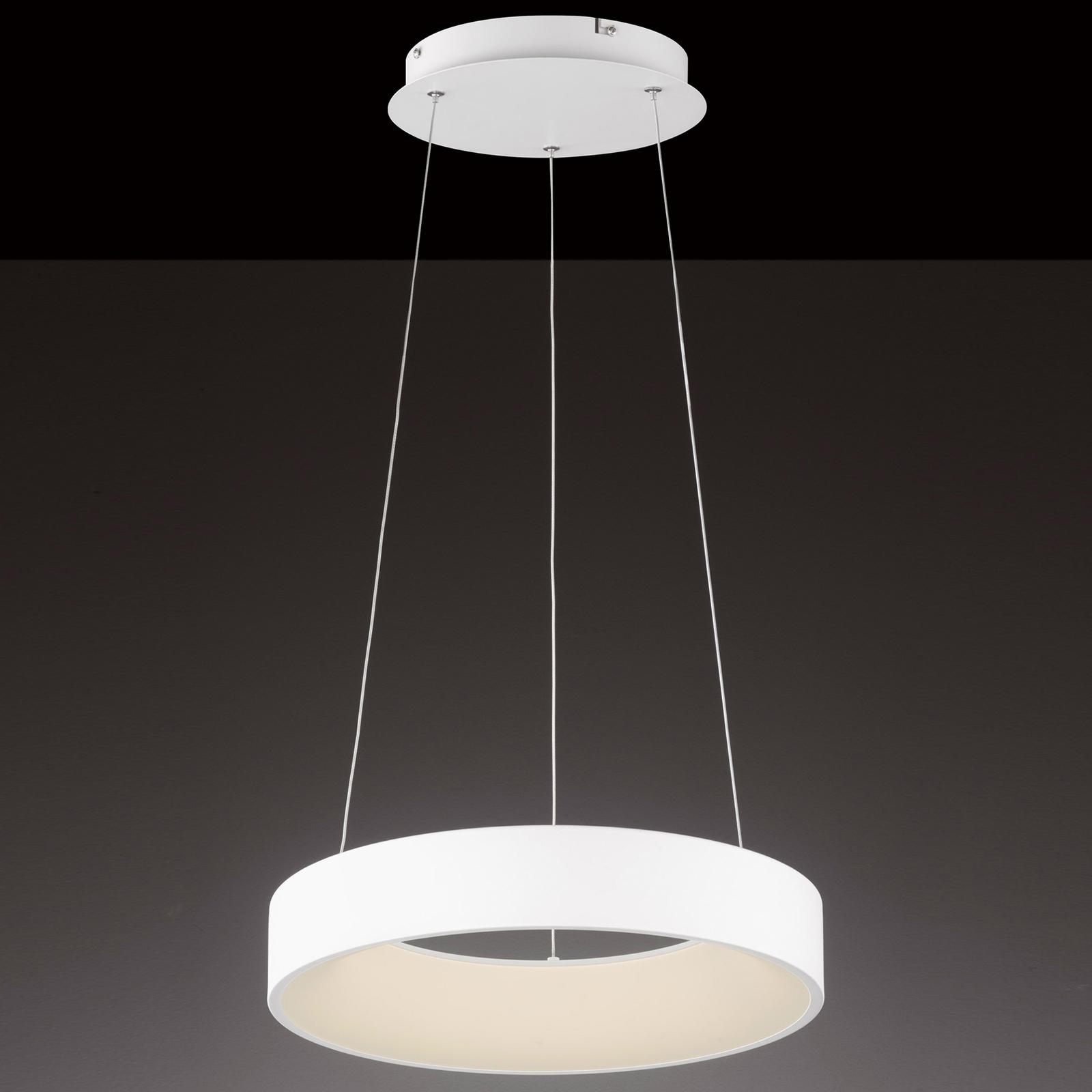 Lampa wisząca LED Cameron z pilotem, 45 cm