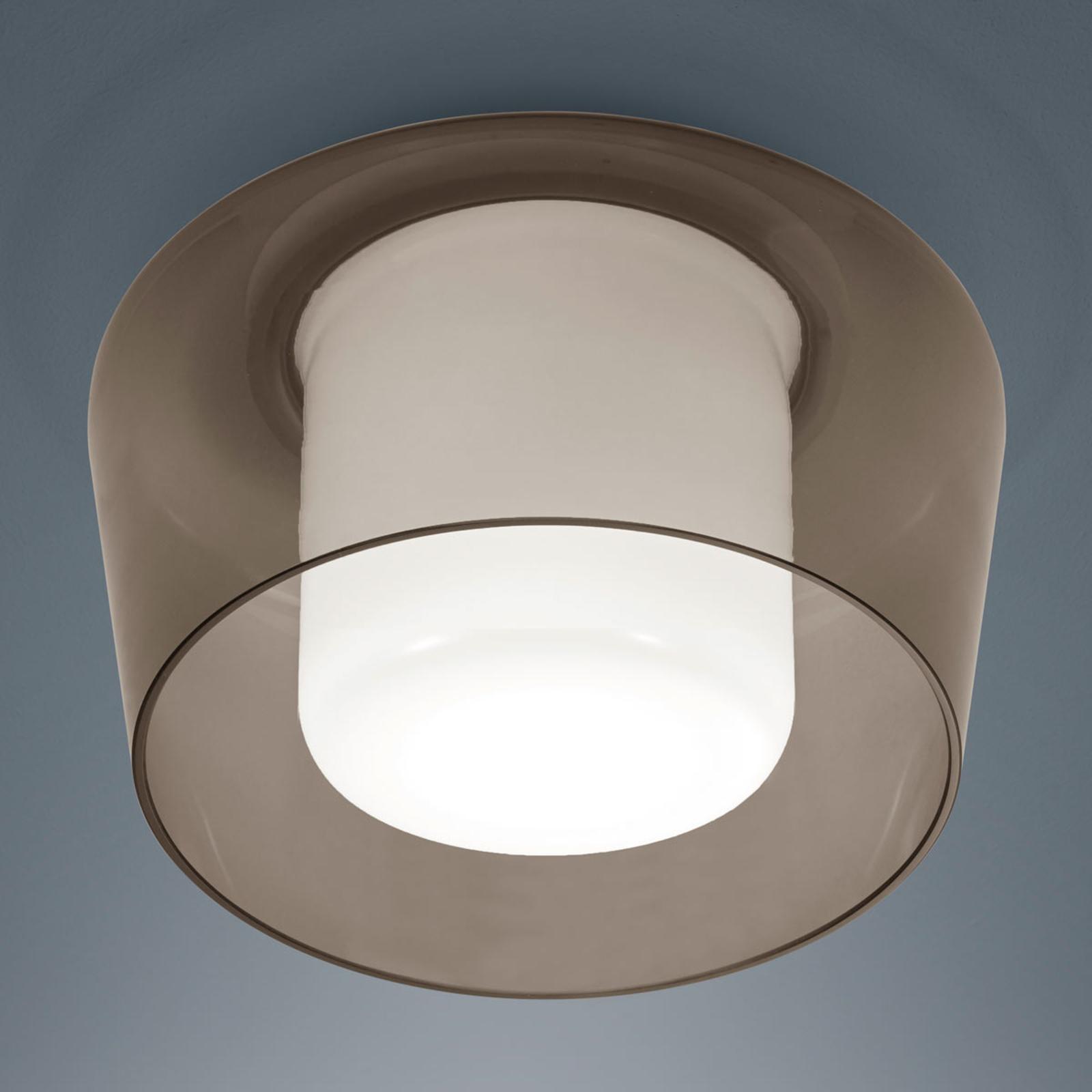 Canio – ładna lampa sufitowa ze szkła