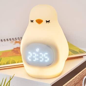 Pauleen Good Morning Penguin lampka nocna budzik