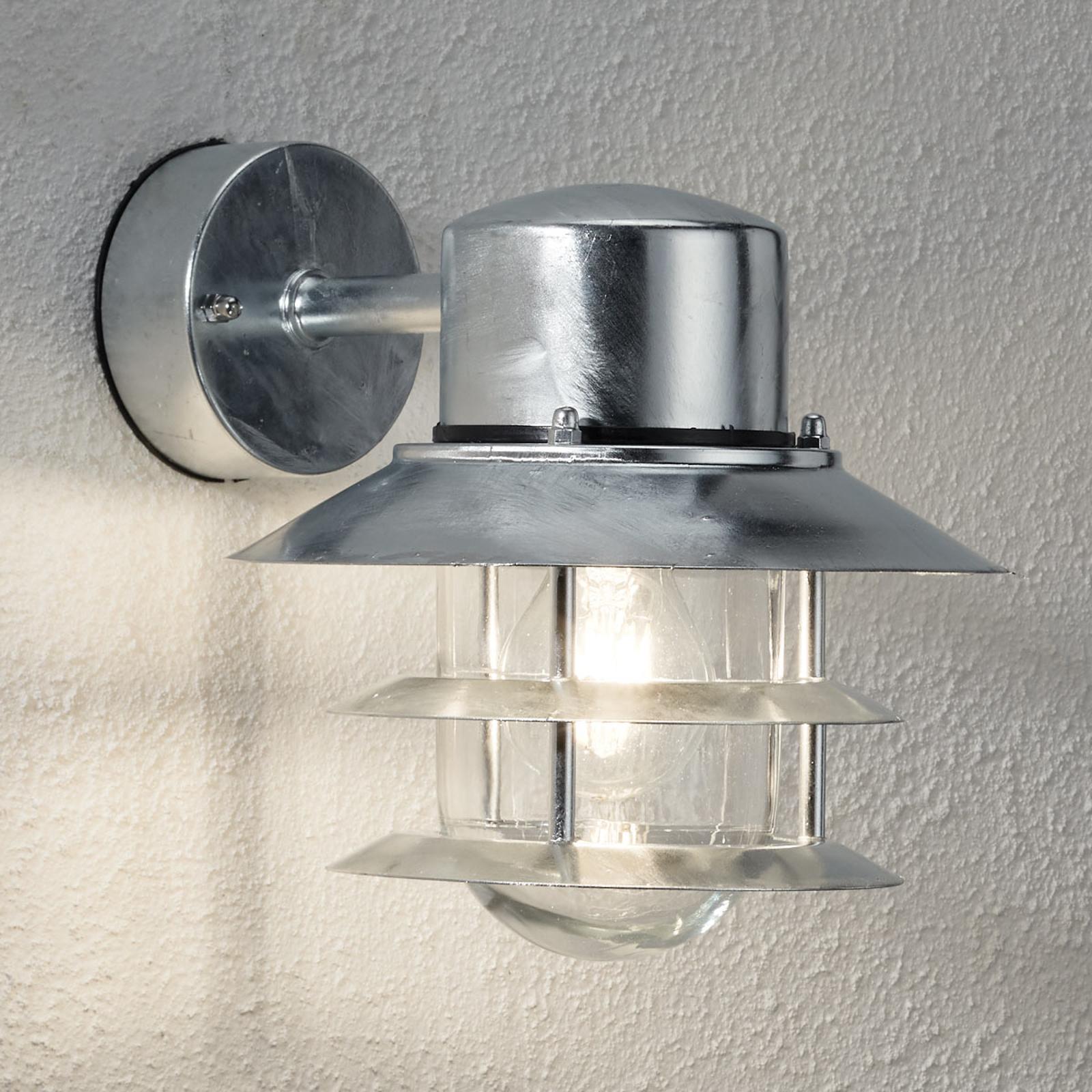 Wandlamp BLOKHUS, gegalvaniseerd, hangend