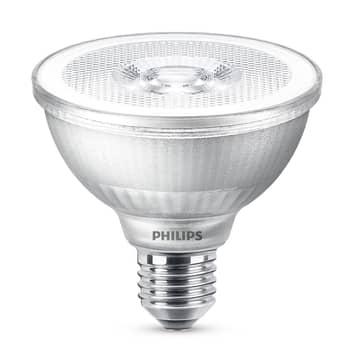 LED-reflektor PAR30S E27 9,5W, varmvit, dimbar